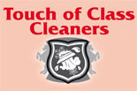 TOUCH of CLASS CLEANERS logo