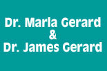 Drs. MARLA and JAMES GERARD logo