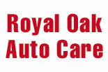 ROYAL OAK AUTO CARE logo