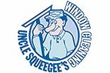 UNCLE SQUEEGEE's WINDOW CLEANING logo