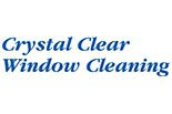 CRYSTAL CLEAR WINDOW CLEANING logo