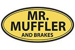 MR. MUFFLER and Brakes logo