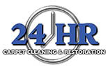 24 HR CARPET CLEANING logo