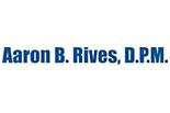 AARON RIVES, D.P.M. logo