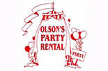 OLSON's PARTY RENTAL logo