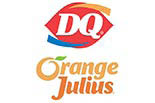 DAIRY QUEEN/ORANGE JULIUS logo