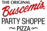 BUSCEMI's Party Shoppe - Pizza logo