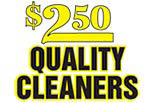 $2.50 QUALITY CLEANERS of Westland logo