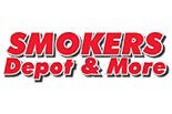 SMOKERS DEPOT & MORE logo