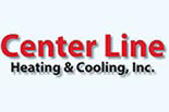 CENTER LINE HEATING & COOLING logo