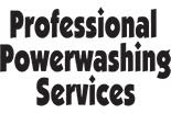 PROFESSIONAL POWERWASHING SERVICES logo
