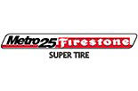 SUPER TIRE - Metro 25 Firestone logo
