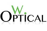 W. OPTICAL logo