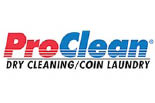 PRO CLEAN Dry Cleaning/Coin Laundry logo