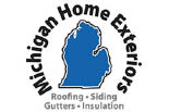MICHIGAN HOME EXTERIORS logo
