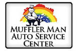 MUFFLER MAN Auto Service Center logo