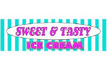 SWEET & TASTY Ice Cream logo
