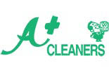 A+ CLEANERS logo
