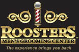 ROOSTER'S MEN'S GROOMING CENTER logo