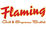 FLAMING GRILL AND SUPREME BUFFET logo