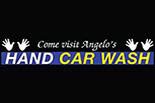 ANGELO'S HAND CAR WASH logo