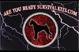 ARE YOU READY SURVIVAL KITS.COM logo