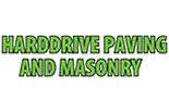 HARDDRIVES PAVING MASONRY logo