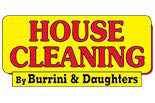 BURRINI HOUSE CLEANING logo