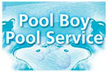 Pool Boy Pool Service logo