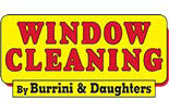 BURRINI'S WINDOW CLEANING logo