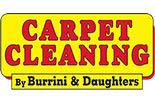 BURRINI'S CARPET CLEANING logo