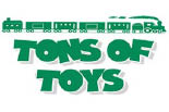 TONS OF TOYS logo
