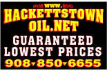 HACKETTSTOWN OIL logo
