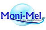 MONI- MEL CUSTOM CLEANING SOLUTIONS FOR PARTY CLEANUP logo