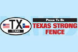 TEXAS STRONG FENCE AND DECK logo