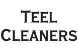 TEEL CLEANERS logo