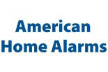 AMERICAN HOME ALARMS logo