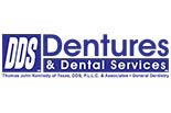 DDS DENTURES & DENTAL SERVICES logo
