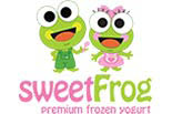 SWEET FROG FROZEN YOGURT logo