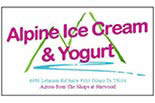 ALPINE ICE CREAM & YOGURT logo