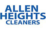 ALLEN HEIGHTS CLEANERS logo