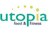 UTOPIA FOOD & FITNESS logo