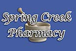 SPRING CREEK PHARMACY logo