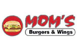 MOM'S BURGER AND WINGS logo