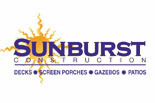 SUNBURST CONSTRUCTION logo