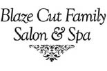 BLAZE CUT FAMILY SALON & SPA logo
