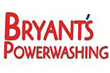 BRYANT'S POWERWASHING logo