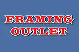 FRAMING OUTLET logo
