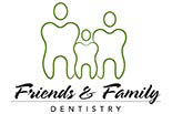 FRIENDS AND FAMILY DENTISTRY logo