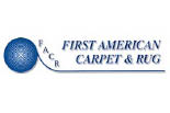 FIRST AMERICAN CARPET & RUG logo